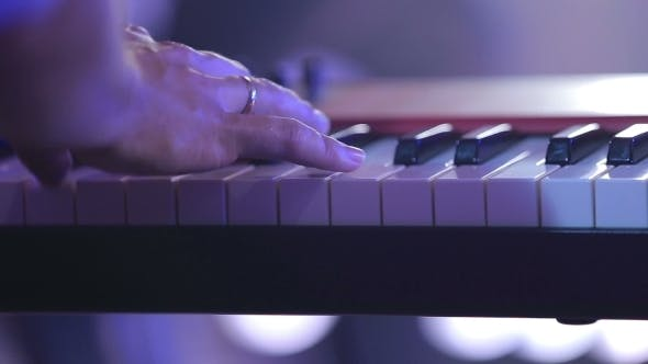 Thumbnail for Hands Playing The Piano