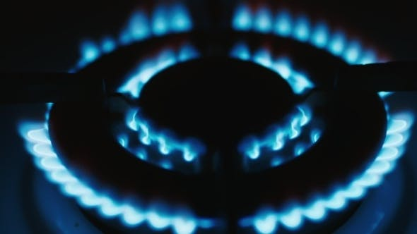 Thumbnail for Gas-burner, Burning Natural Gas