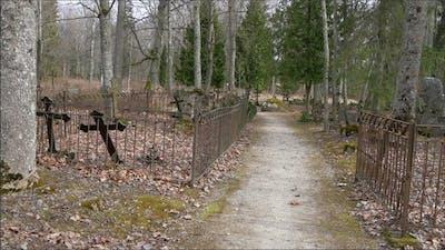 Walktrough Along the Cemetery