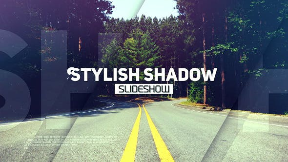 Thumbnail for Stylish Shadow Slideshow