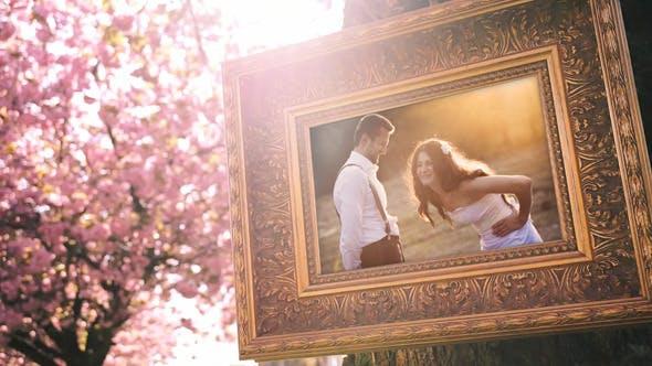 Thumbnail for Hochzeits-Fotogalerie in einer Kirschblütenallee