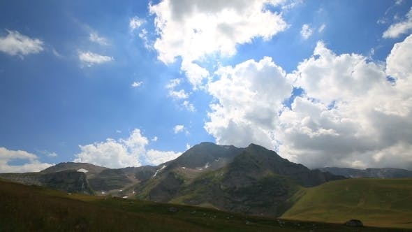 Thumbnail for Mountain With Clouds