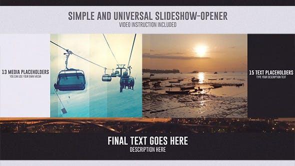 Thumbnail for Universal  SlideShow-Opener