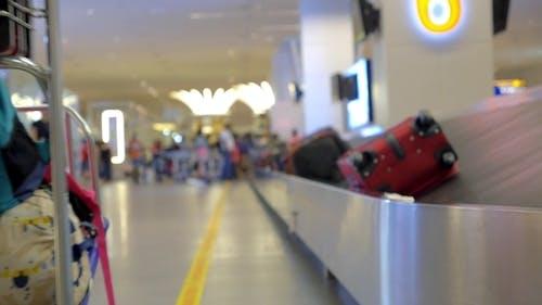 Baggage Claim Terminal - Suitcase On Luggage