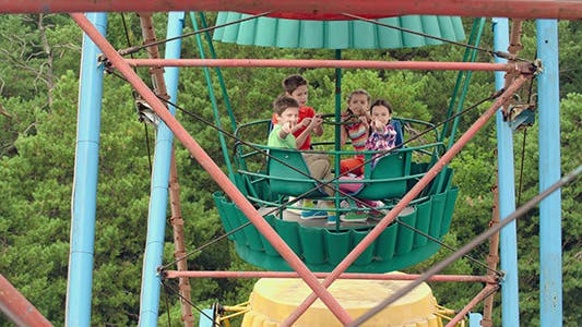 Thumbnail for Enjoying Ferris Wheel Ride