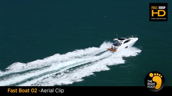 Fast Boat 02 - Aerial View