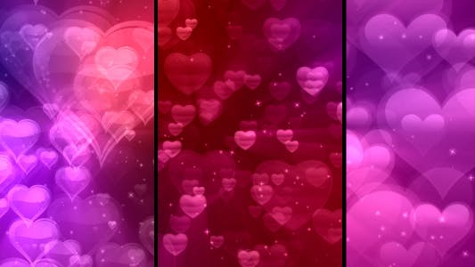 Thumbnail for Colorful Valentine's (3 Different Backgrounds)