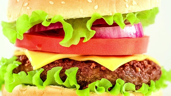 Cover Image for The Tasty And Appetizing Hamburger Cheeseburger