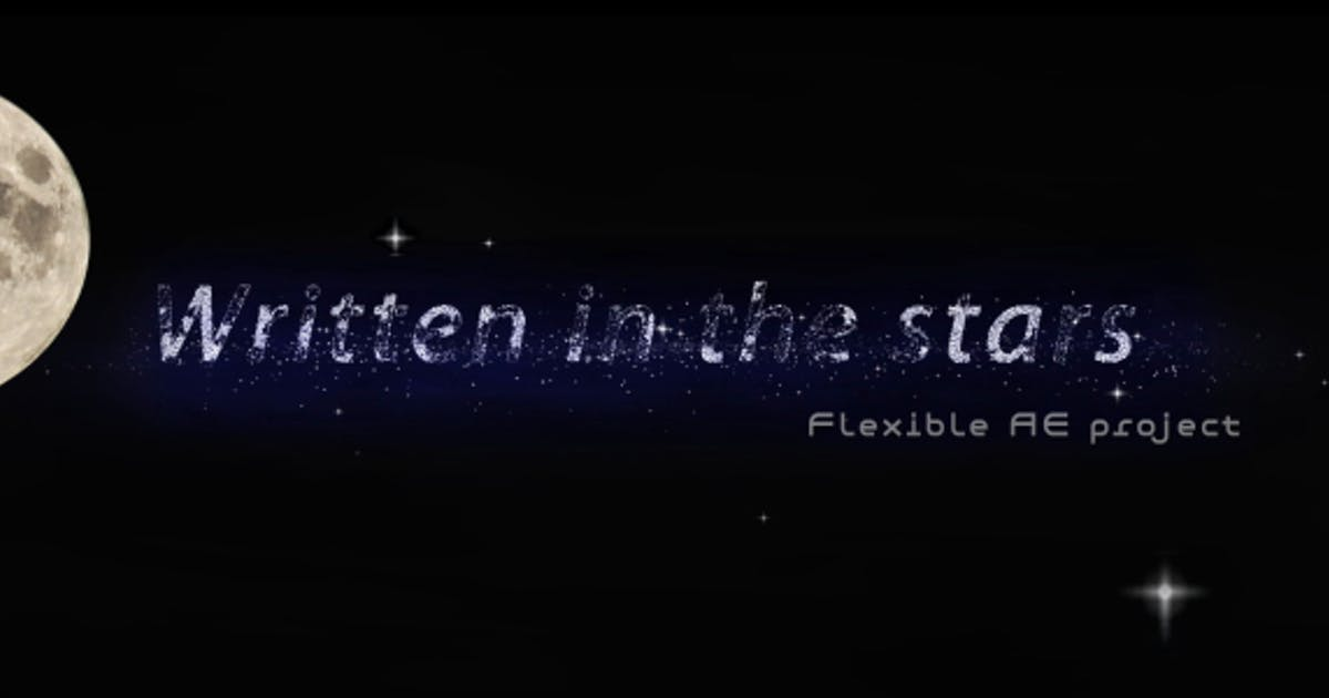 Download Written in the Stars (titles presentation - sting) by steve314
