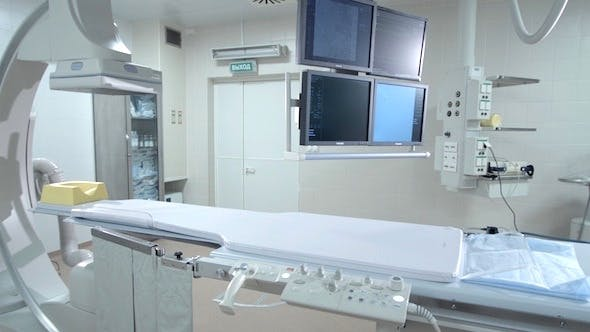 Angiograph in Hospital