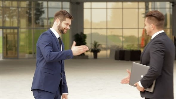Thumbnail for Handshake Of Two Business Colleagues