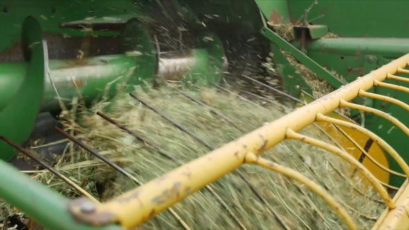 Thumbnail for Tractor Technology Harvesting Alfalfa 3