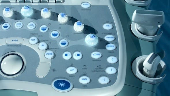 Thumbnail for Medical Ultrasonic Machine Control Panel