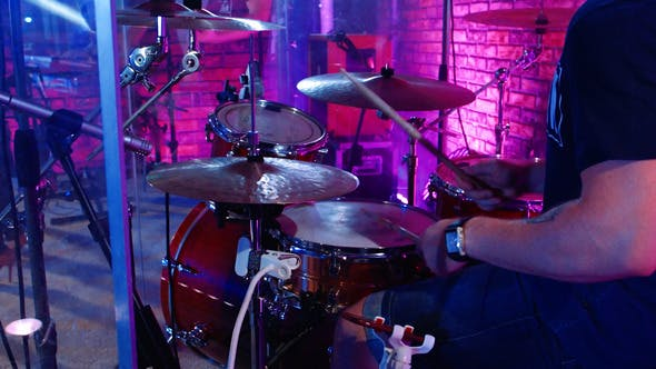 Thumbnail for Drum At Concert On Stage