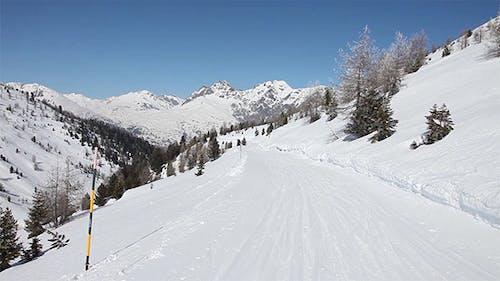Subjective Ski Slope Footage