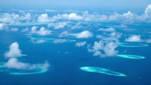 Maldives Islands Aerial View