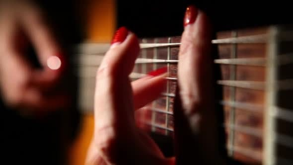 Cover Image for Woman Playing Guitar 3