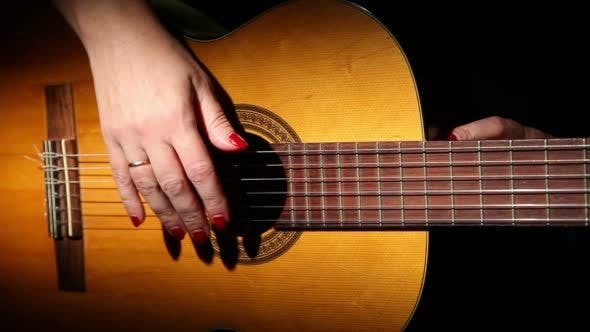 Thumbnail for Woman Playing Guitar 2
