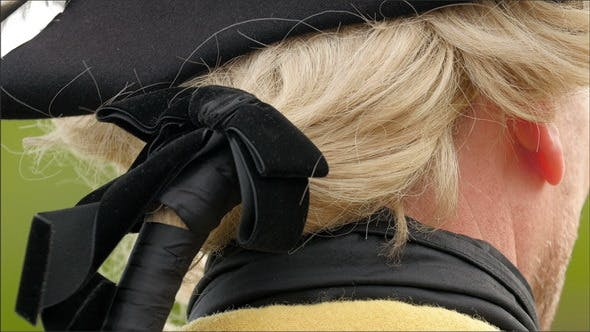 The Back of the Head of the Guard