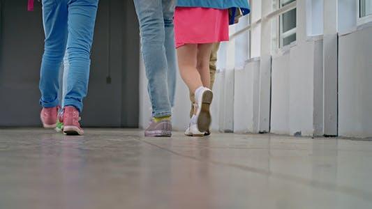 Thumbnail for Pupils Walking Away