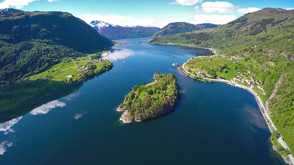 Thumbnail for Flying Over The Sognefjorden