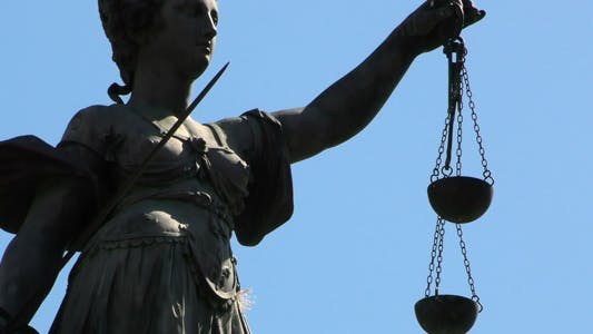 Thumbnail for Lady Justice Statue in Frankfurt Germany 2