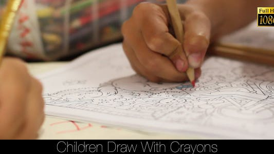 Thumbnail for Children Draw With Crayons 3