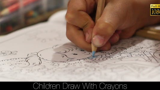 Thumbnail for Children Draw With Crayons 4