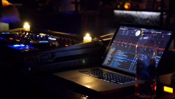 Thumbnail for Dj Mixing Tracks In Nightclub At Party