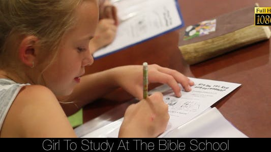Cover Image for Girl To Study At The Bible School 6