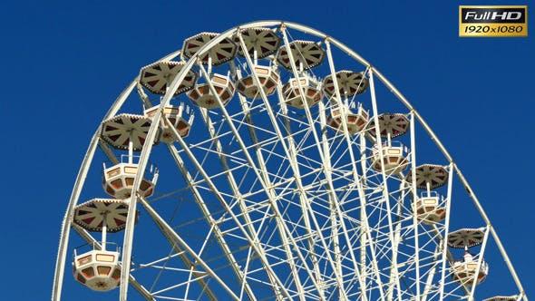 Thumbnail for Tall Classical Fair Ferris Wheel In France
