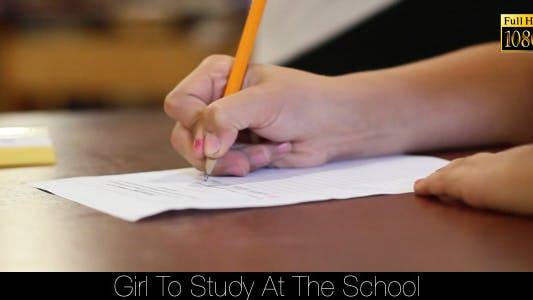 Thumbnail for Girl To Study At The School 2