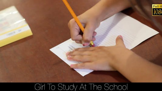 Thumbnail for Girl To Study At The School 3