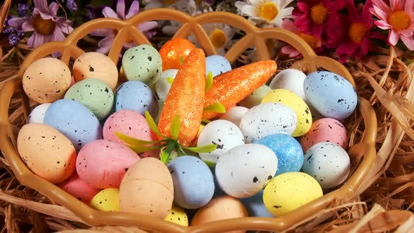 Colorful Traditional Celebration Easter Paschal Eggs 28
