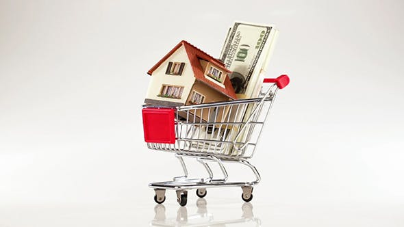 Thumbnail for Shopping Cart And House