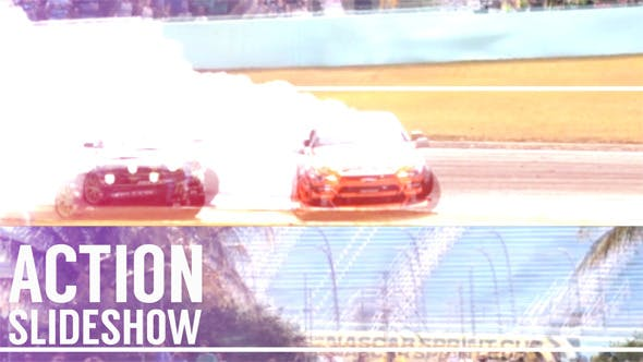 Cover Image for Action Glitch Slideshow