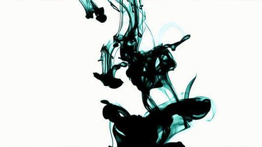 Thumbnail for Blue Silky Smoke on White