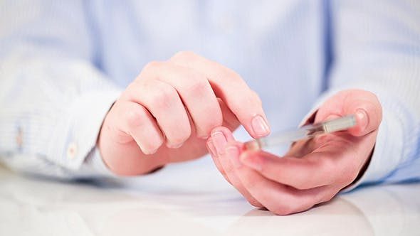 Thumbnail for Smartphone With Transparent Screen In Human Hands