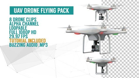 Thumbnail for UAV Drone Flying Pack