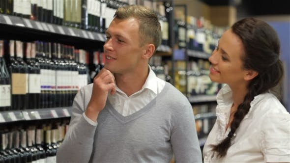 Thumbnail for Married Couple Buying Wine