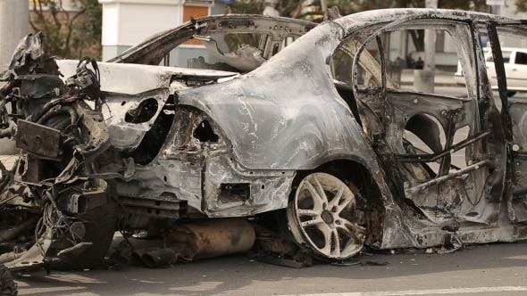 Thumbnail for Car Burned After Explosion