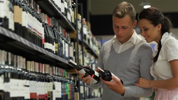 Thumbnail for Couple At Wine Store