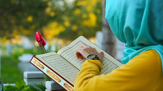 Cover Image for Cemetery Reading Quran
