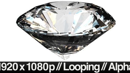 Thumbnail for Isolated Diamond Rotating - LOOP - ALPHA