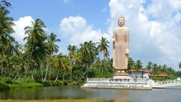Thumbnail for Peraliya Buddha Statue, The Tsunami Memorial In Hikkaduwa, Sri Lanka 2