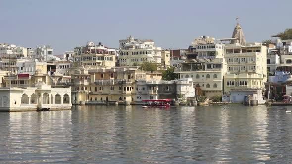 Thumbnail for Pichola Lake In Udaipur India 2