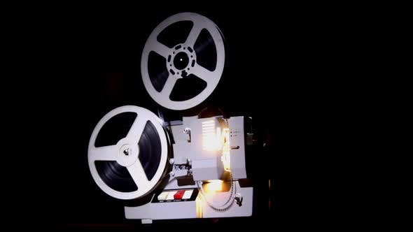 Thumbnail for Old Projector Showing Film 8