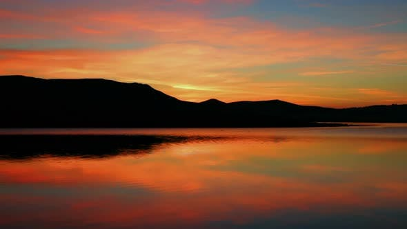 Thumbnail for Sunrise On Morning Lake  Mountain 1