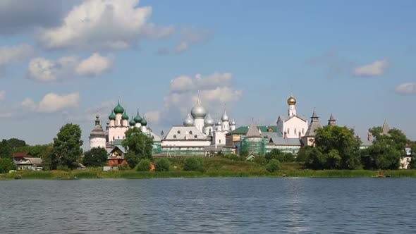 Thumbnail for Kremlin In Rostov The Great, Russia, View From The Nero Lake 1