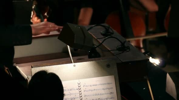 Thumbnail for The Hands Of A Man Who Conducts The Orchestra 3